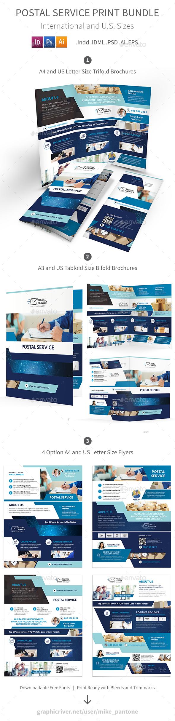 Postal Service Print Bundle - Informational Brochures