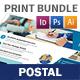 Postal Service Print Bundle - GraphicRiver Item for Sale