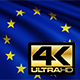 The European Union Flag 4K - VideoHive Item for Sale