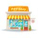 Pet Shop Facade - GraphicRiver Item for Sale