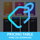 Price Plan - Pure CSS Showcase