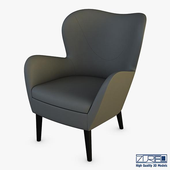 Arc armchair - 3DOcean Item for Sale