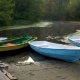 Boats on Riverbank - VideoHive Item for Sale