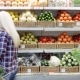 Woman Chooses Fruit in a Supermarket - VideoHive Item for Sale