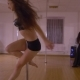 Girl Dancing on a Pole - VideoHive Item for Sale