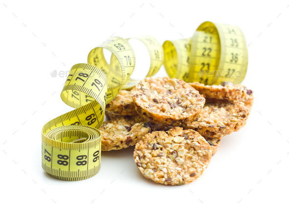 Oatmeal cookies, granola cookies. - Stock Photo - Images