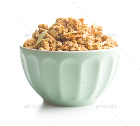 The granola breakfast cereals. - Stock Photo - Images