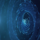 Blue Sci Fi Particles - VideoHive Item for Sale