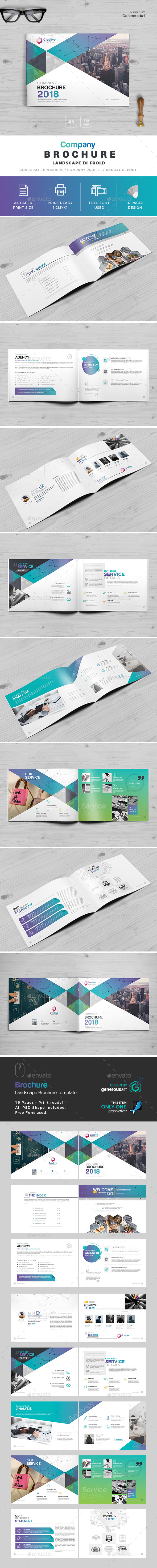 Company Landscape Brochure - Corporate Brochures