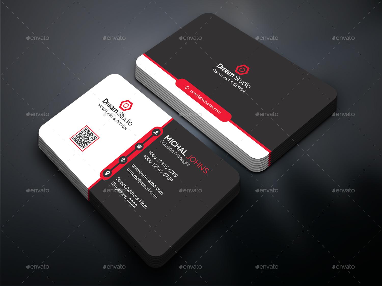 Business Card By DreamStudio Eg