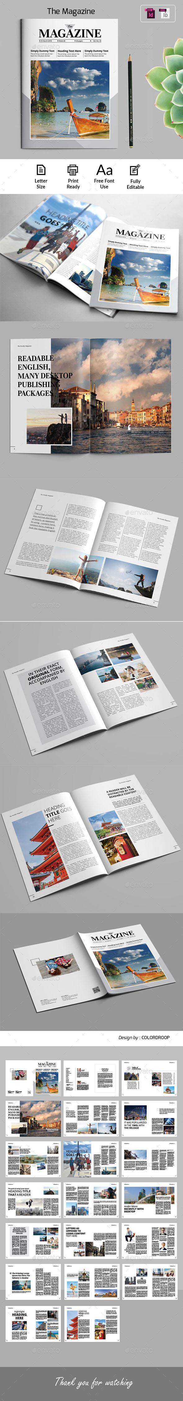 The Weekly Magazine - Magazines Print Templates