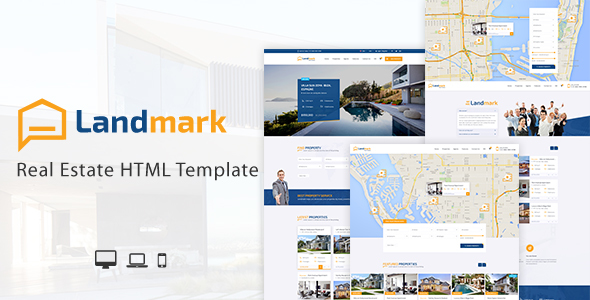 Image of Landmark - Real Estate HTML Template