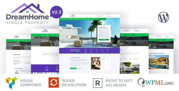 DreamHome - Single Property WordPress Theme - Real Estate WordPress