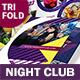 Night Club Trifold Brochure