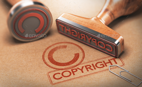 Copyright Symbol - Stock Photo - Images