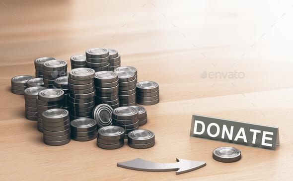 Donate Money - Stock Photo - Images