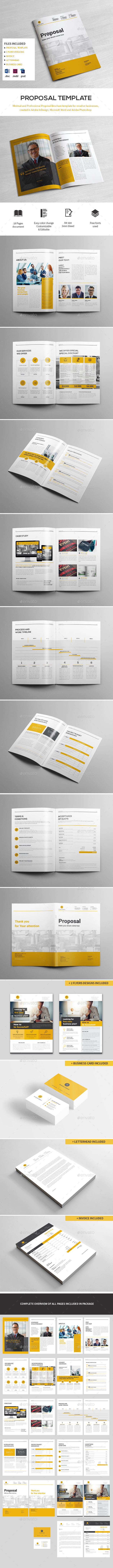 Proposal Template - Proposals & Invoices Stationery