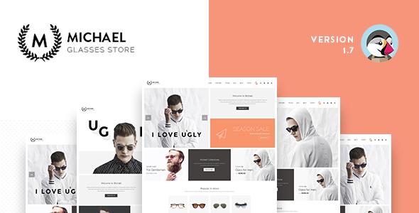 Leo Michael Responsive Prestashop 1.6 & 1.7 Theme for Sunglass, Fashion, Multistore - PrestaShop eCommerce