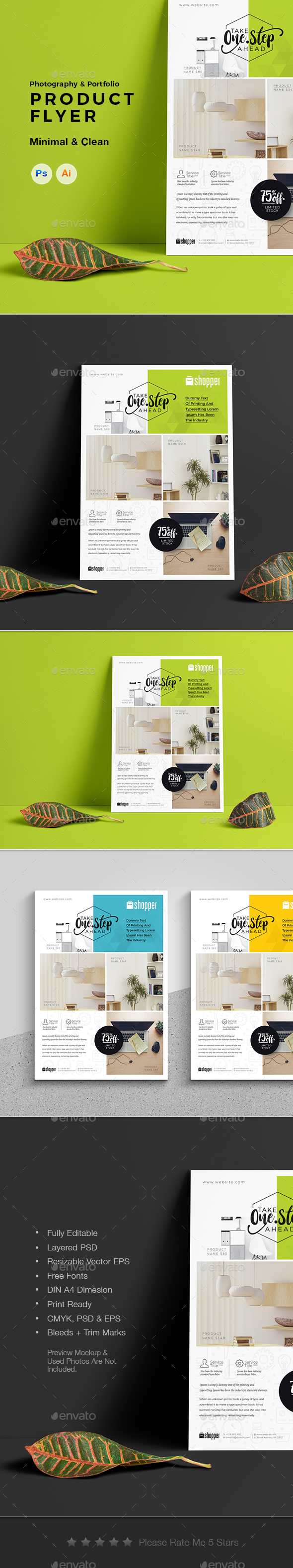 Portfolio Flyer - Corporate Flyers