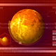 Computer Interface With The Cosmic Planet - VideoHive Item for Sale
