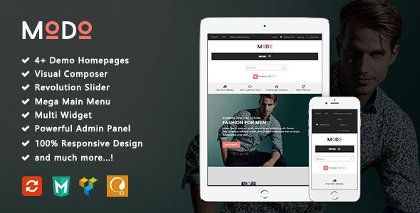 Modo – Clean Minimalist Fashion Responsive WooCommerce WordPress Theme