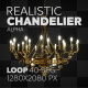 Realistic Chandelier - VideoHive Item for Sale