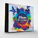 Flores De Colores Summer Musics CD/DVD Photoshop Template - GraphicRiver Item for Sale
