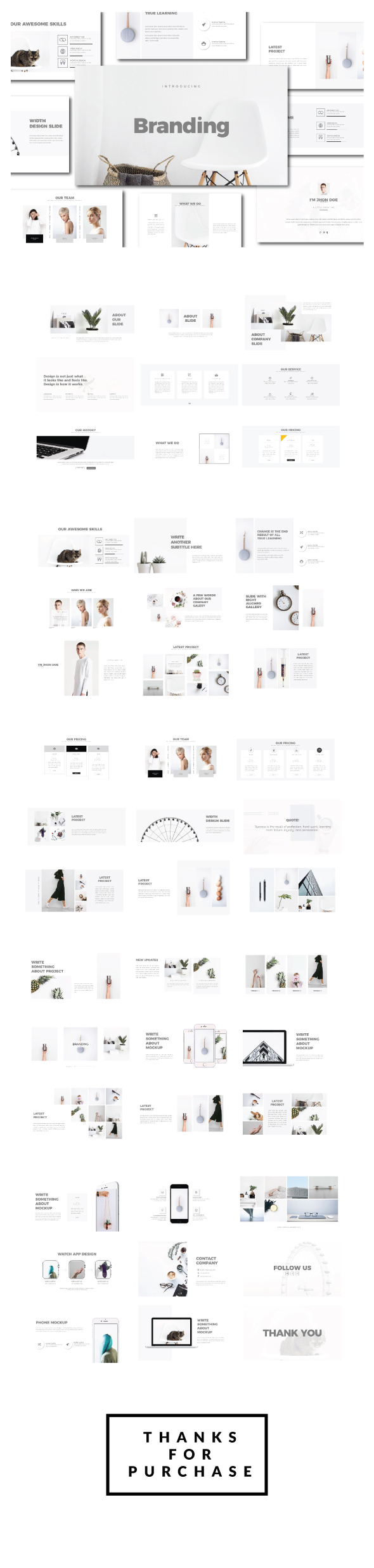 Branding Creative Agancy Powerpoint - Business PowerPoint Templates