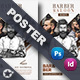 Barber Poster Templates - GraphicRiver Item for Sale