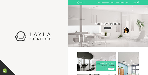Layla - Furniture Shopify Theme