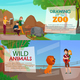 Zoo Visitors Horizontal Banners