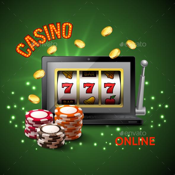 Casino Realistic Composition - Sports/Activity Conceptual