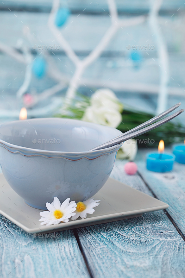 Easter table setting - Stock Photo - Images