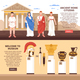 Ancient Rome Horizontal Banners