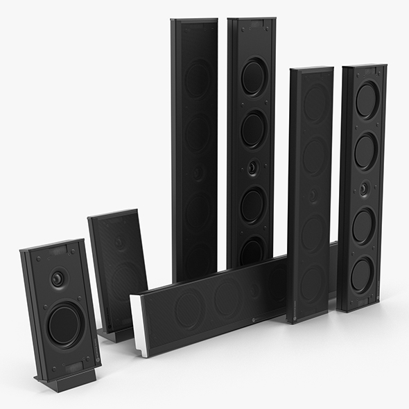 Speakers Set Monitor Audio Shadow - 3DOcean Item for Sale