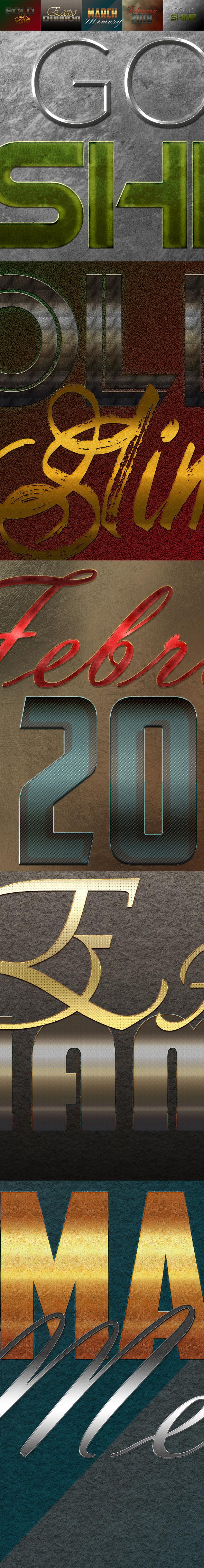 10 3D Text Styles D_66 - Styles Photoshop