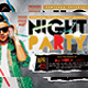 Night Party Flyer - GraphicRiver Item for Sale