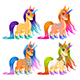 Baby Unicorns for Luck, Protection and Inspiration - GraphicRiver Item for Sale