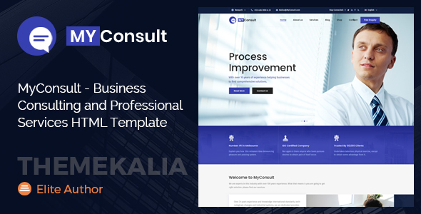 MyConsult - Business Consulting and Professional Services HTML Template - Business Corporate