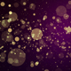 Gold Pink Particles 4K - VideoHive Item for Sale