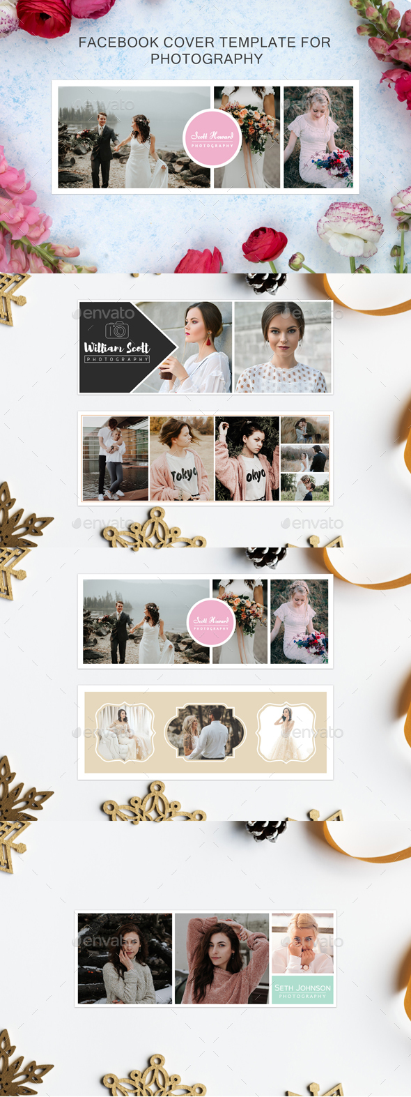 5 Facebook Cover Template for Photography - Facebook Timeline Covers Social Media