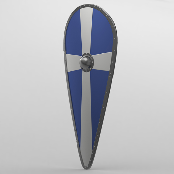 Norman shield - 3DOcean Item for Sale