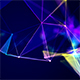 Dancing Colorful Plexus Laser Show Background - VideoHive Item for Sale