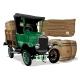 Vector Saint Patrick's Vintage Cartoon Beer Truck - GraphicRiver Item for Sale