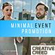 Minimal Event Promo - VideoHive Item for Sale