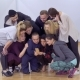 Young Group of Dancers Looks Something in the Phone - VideoHive Item for Sale