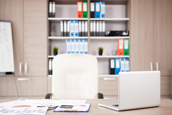 Modern office interior - Stock Photo - Images