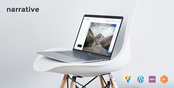 Image of Narrative | A Photography WordPress Theme