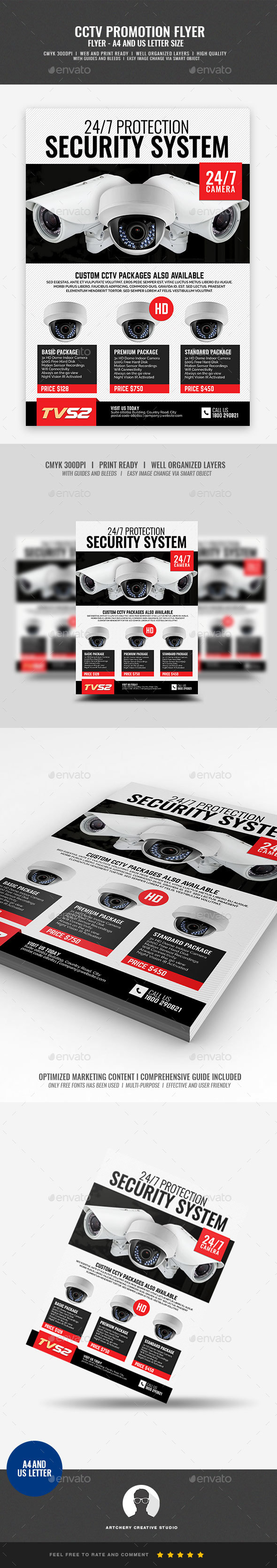 CCTV Product Flyer - Corporate Flyers