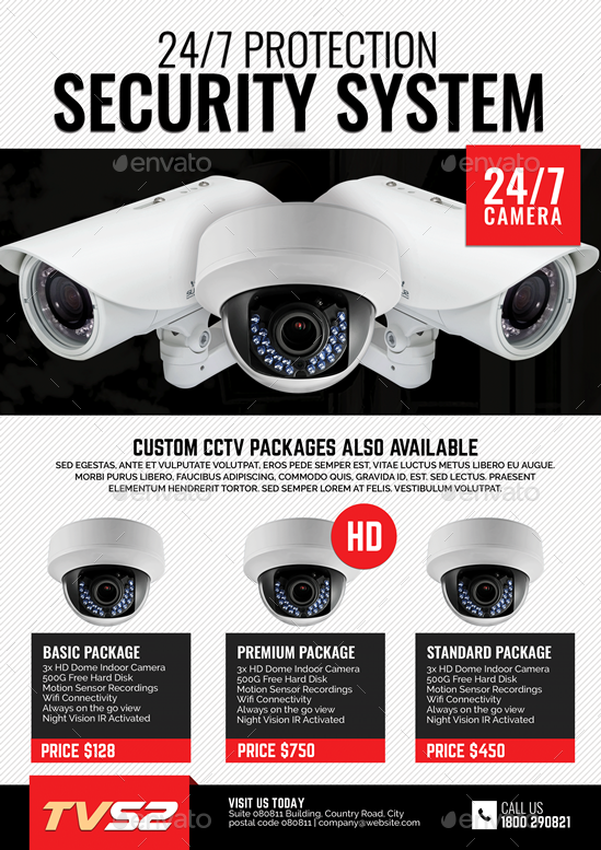 CCTV Product Flyer